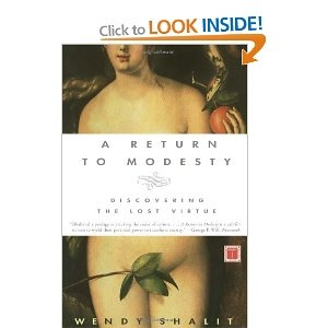 interesting book about modesty from a Jewish perspective
