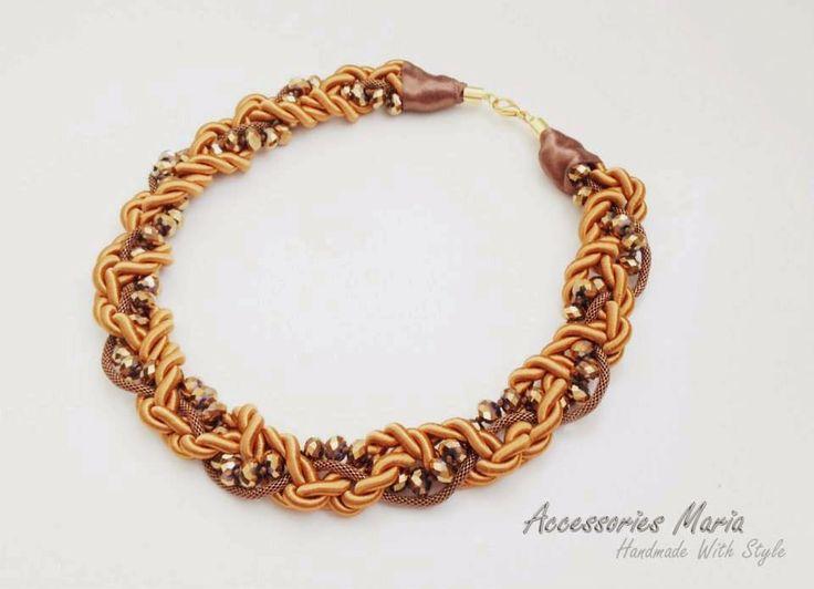 Accessories Maria  #necklace #accessories #jewelry #unique  #handmade #gold