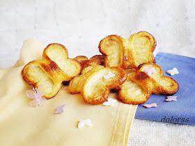 Blog de cuina de la dolorss: Mariposas de hojaldre