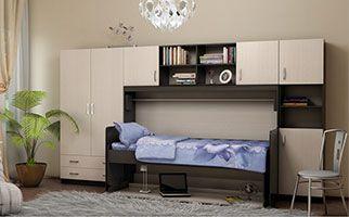 Меблі-трансформер стінка шафа ліжко