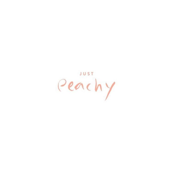 just peachy ;)