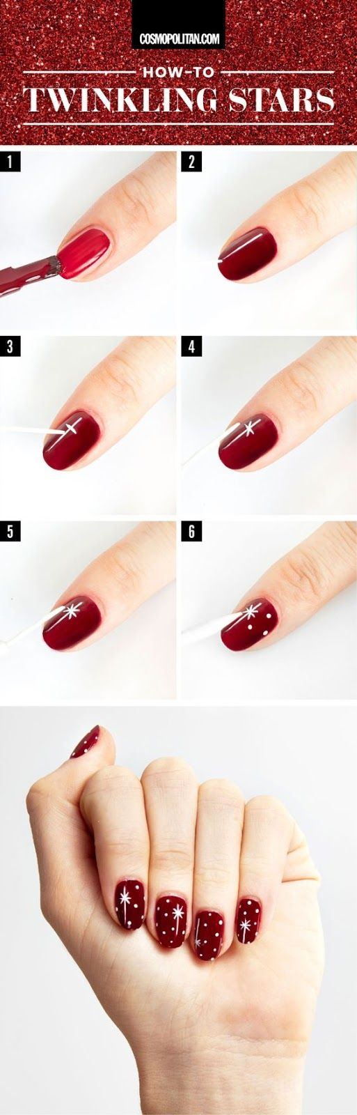7 Gorgeous Nail Art Looks To Wear This Holiday