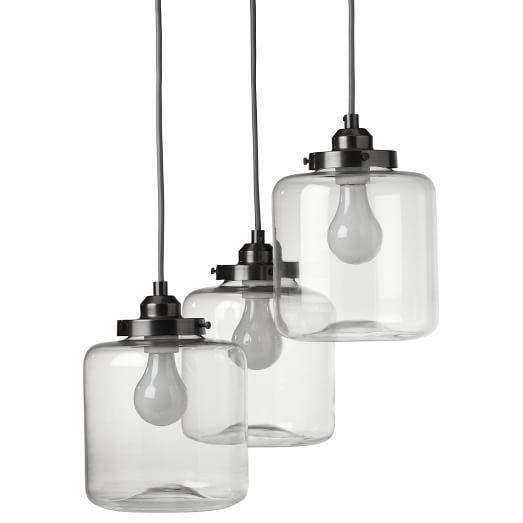 Stargaze Set Of 2 Hanging Mason Jar Pendant Lights By: 31 Best Dining Room Images On Pinterest