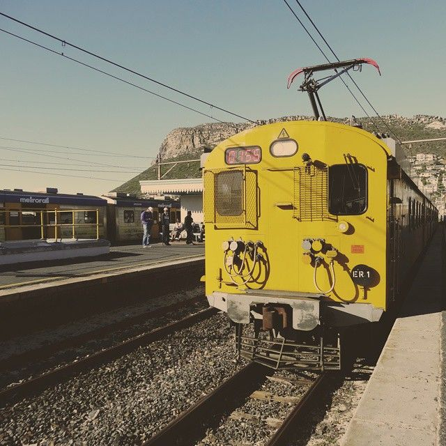 Day two: transportation. If you want to get around Cape Town efficiently and quickly, the metro rail is the best way to go. It got us from Fish Hoek to Cape Town and everywhere in between. Definitely one thing I enjoyed about the city life. #iew2014