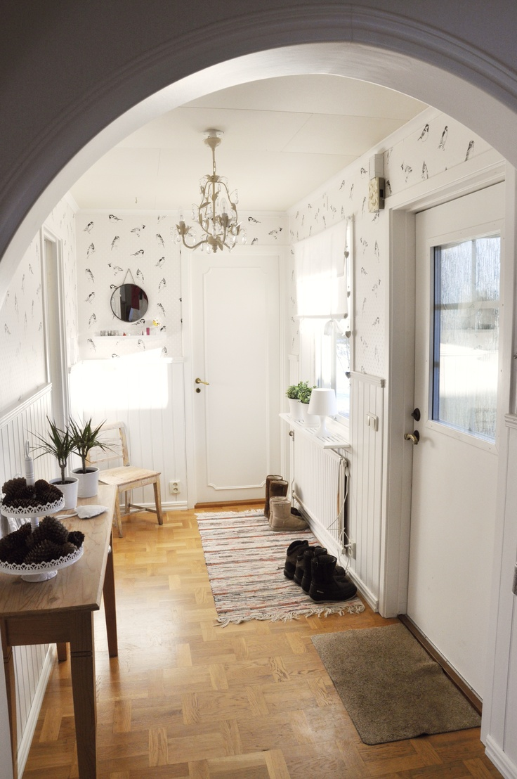 The hallway, the entrance of our home
