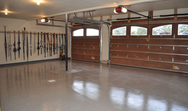 DIY Epoxy Garage project. Learn how to make your garage look amazing!