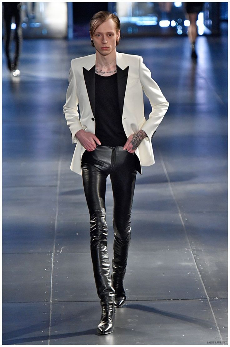 "Saint Laurent Fall/Winter 2015 Menswear Collection: ""Paris Sessions"""