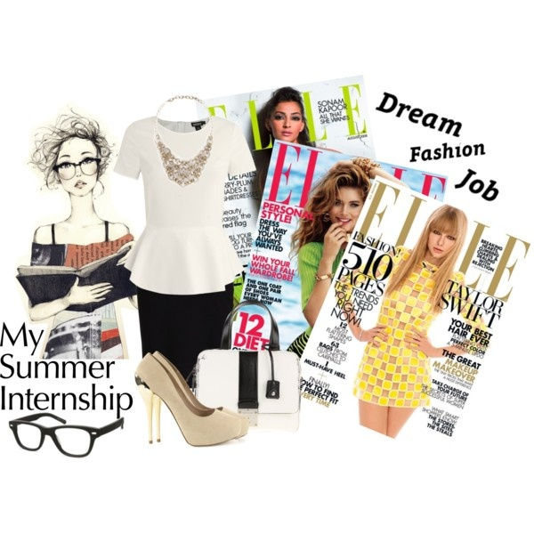 """Summer Internship"" #fashion collage by mirsmi on Polyvore"