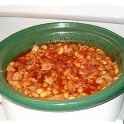 Slow Cooker Baked BeansWhite Beans, Crockpot Cooking, Crock Pots, Beans Recipe, Cooker Baking, Crockpot Baking, Baking Beans, Slow Cooker, Baked Beans
