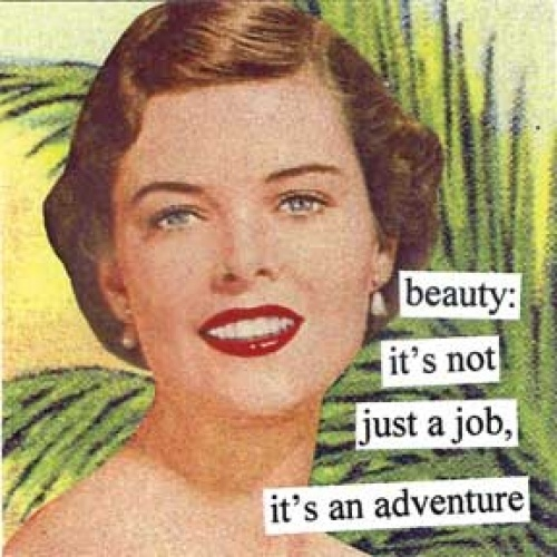 Anne Taintor magnet beauty