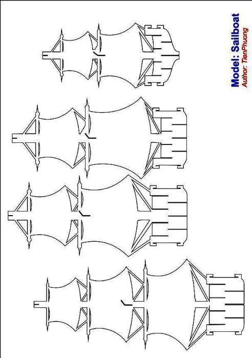 Киригами машины схемы