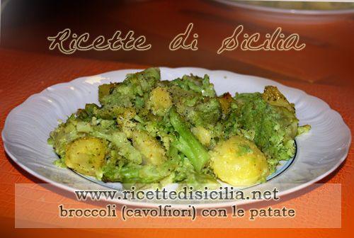 Cavolfiore e patate, un antipasto robusto e tutto vegetale; ottimo anche come contorno ad un secondo di carne o pesce.