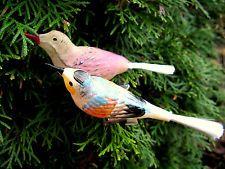 Alter Weihnachtsschmuck, Vögel