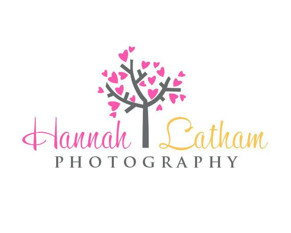 premade logos for photographers - Customized for ANY business logo -  Premade Photography Logos - Tree of Hearts. $10.00, via Etsy.
