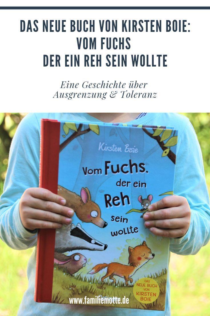 Vom Fuchs der ein Reh sein wollte – das neue Kinderbuch von Kirsten Boie