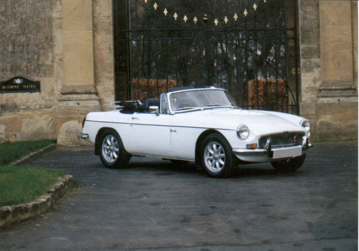 MGB - My first car I bought by myself.  <3: First Car