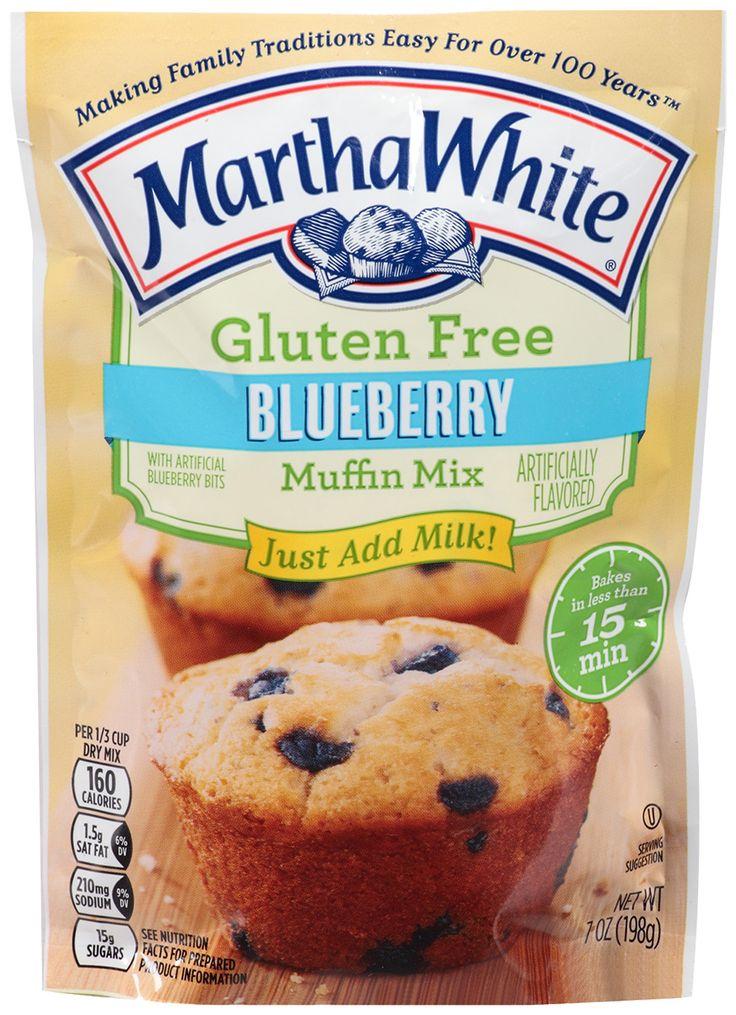 Gluten Free Blueberry Muffin Mix Martha White Gluten