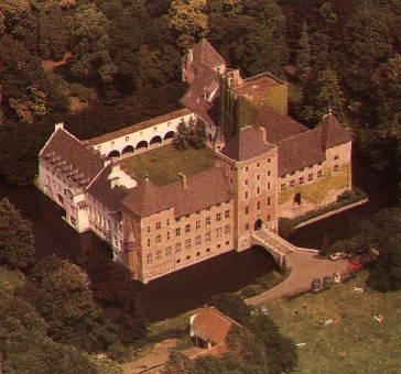 Sint-Kruis Brugge - Bruges Sint-Trudoabdij - voormalig slot van Male - Castle - abbey