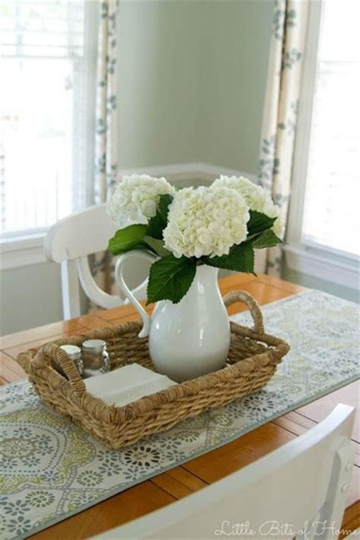 48 Best And Beautiful Farmhouse Table Centerpiece Ideas Beautiful Cente Table Centerpieces For Home Dining Table Centerpiece Dining Room Table Centerpieces
