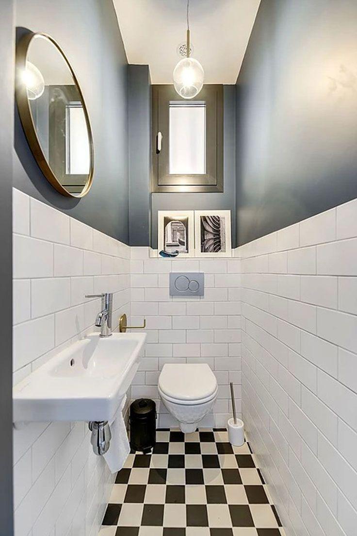 Des WC rétro modern deco #wc #inspiration