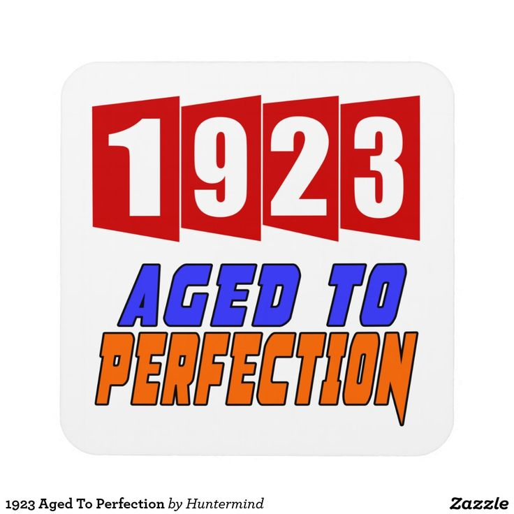 1923 Aged To Perfection Drink Coaster Cool Gifts