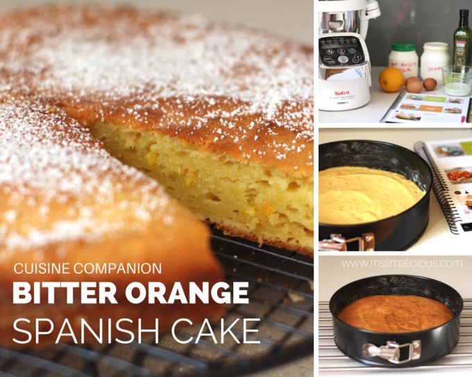Spanish Orange cake with Cuisine Companion