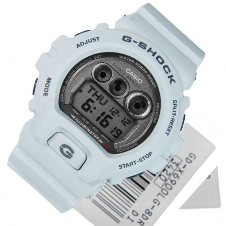 Chronograph-Divers.com - GD-X6900LG-8DR Casio G-Shock White Quartz Mens Watch, $134.00 (http://www.chronograph-divers.com/gd-x6900lg-8dr/)