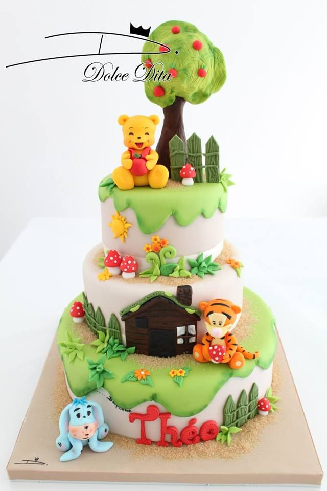 263 best winnie the pooh cakes images on pinterest | figurines