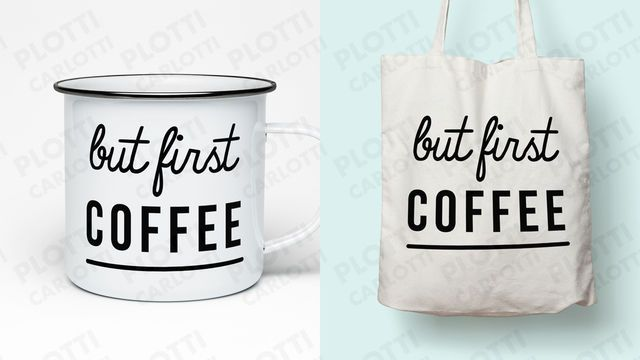 But first coffee Plotterdatei - Plotterdateien bei Makerist