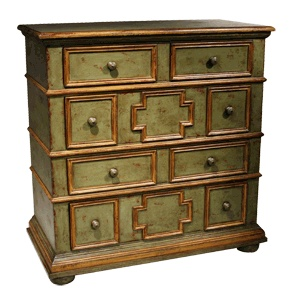 Eddy West Dresser 48w X 24d X 49.5h I Like The Crosses With Our Wallpaper