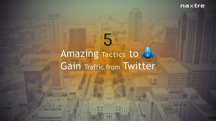 5 Amazing Tactics To Gain Traffic From Twitter