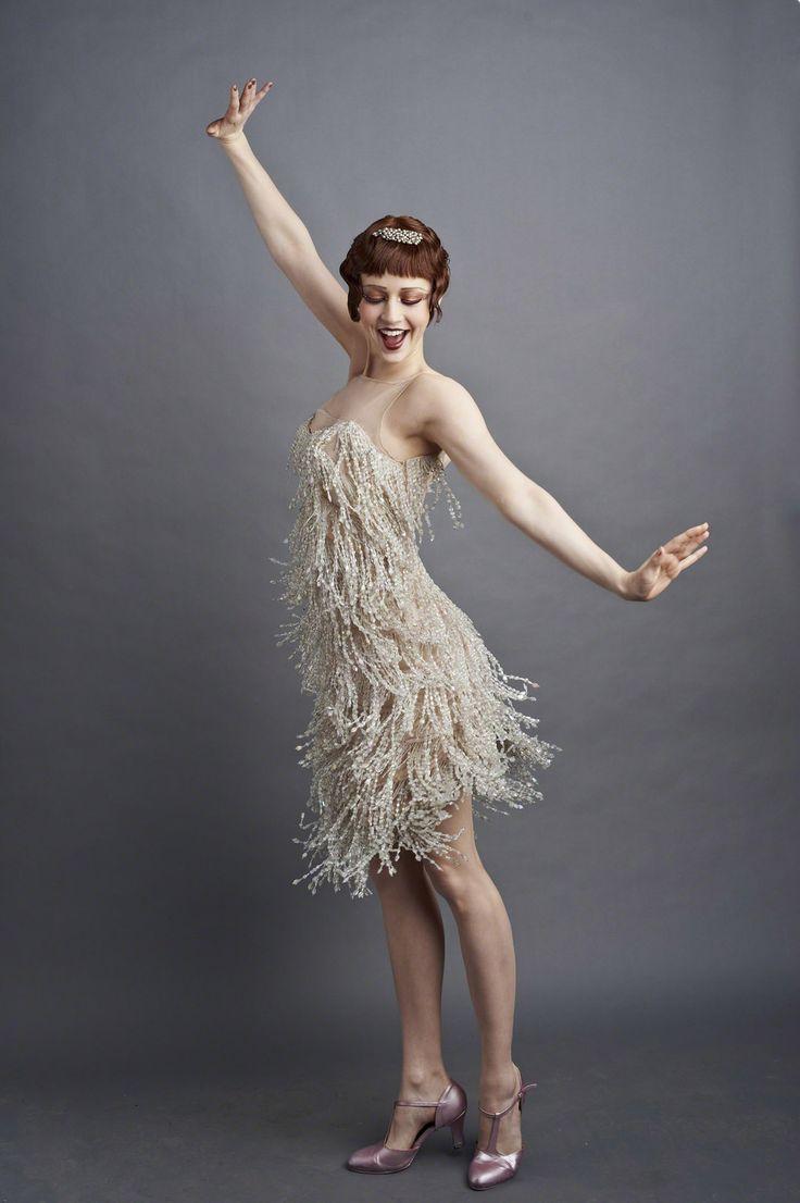 Flapper style. #fashion #flapper #TheGreatGatsby #1920s