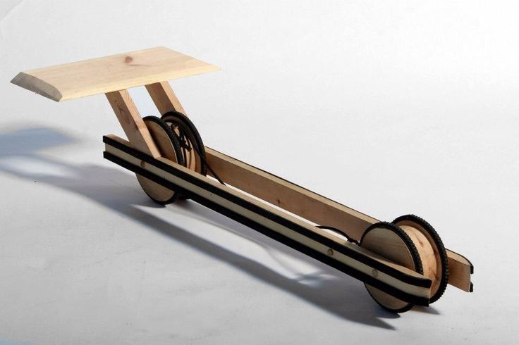 how to make a elastic band car