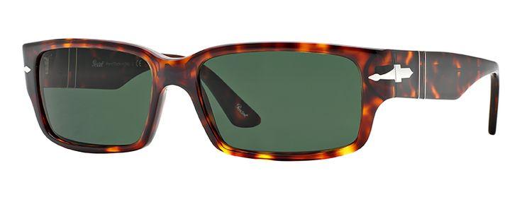 Persol per uomo po3087s (SUPREMA)  - 24\31 (HAVANA\green), Occhiali da Sole Calibro 58