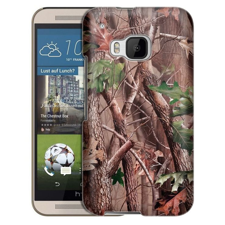 HTC One M9 Real Tree Camouflage Hunter Sunset Slim Case