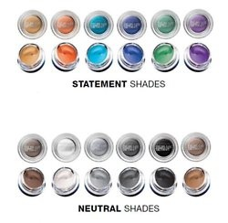 Maybellin Color Tattoo!!! Love all of these, have every single colour, compared to Mac paint pots!