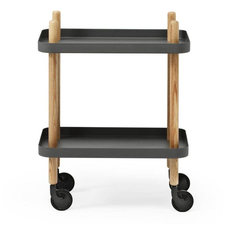 top3 by design - Normann Copenhagen - NM block table dark grey