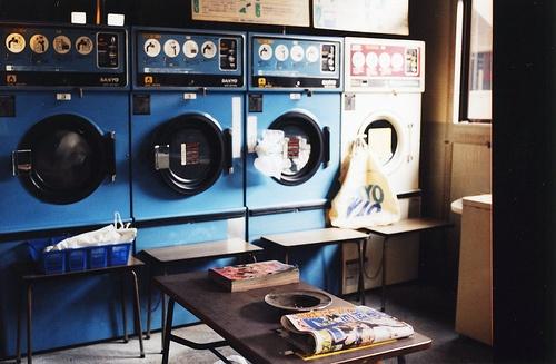 eskiden çamaşır odaları varmış.