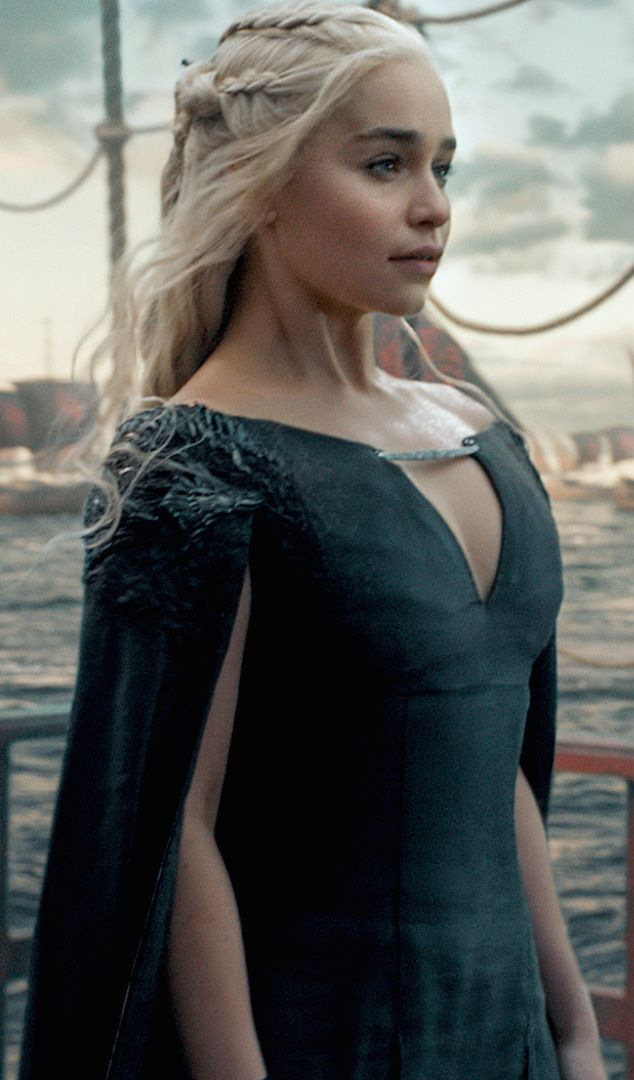 Daenerys Targaryen, First of her Name, Daenerys Stirmborn, Mother of Dragons, Breaker of Chains ... you get the idea #GoT