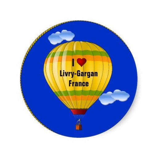 Livry-Gargan France  City pictures : Love Livry Gargan France Round Sticker