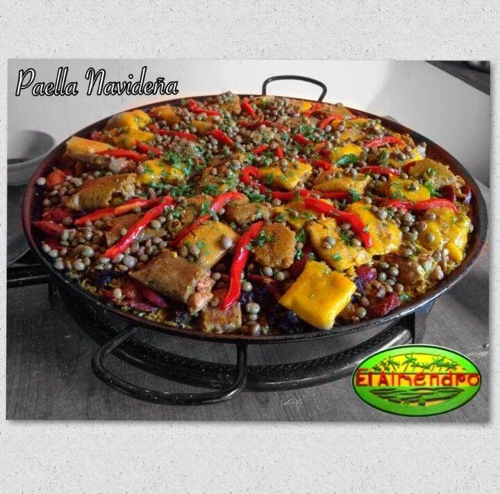 Paella navide a a la puertorrique a christmas paella - Cocina navidena espanola ...