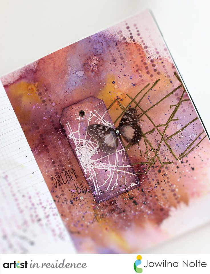 Follow Your Dreams Art Journal Page by Jowilna Nolte There is nothing quite as…