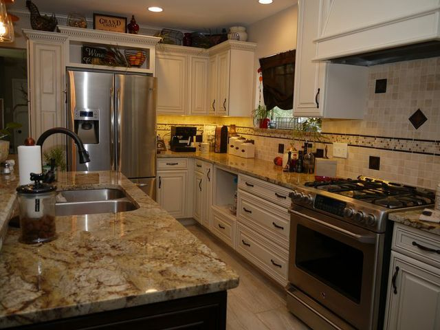 Kitchen Designed And Remodeled By More For Less Remodeling In St. Louis, MO.