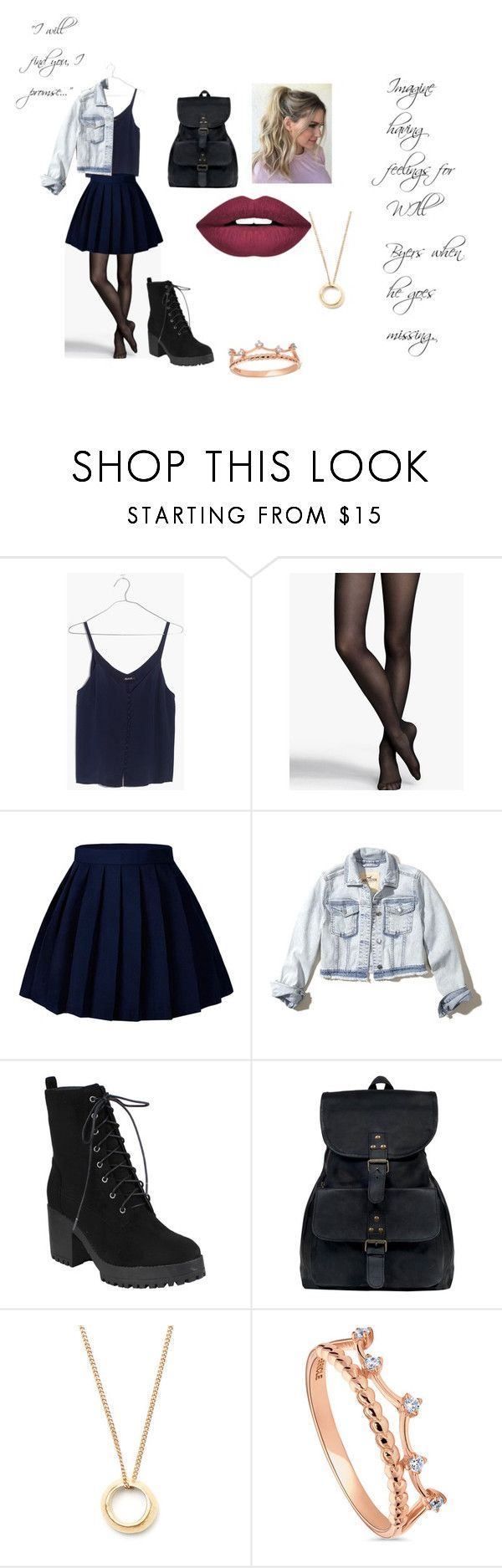 """""""Imagine Having Feelings for Will Byers"""" by kirstie04 ❤ liked on Polyvore featuring Madewell, Express, Hollister Co., Mahi, BERRICLE and Forever 21"""