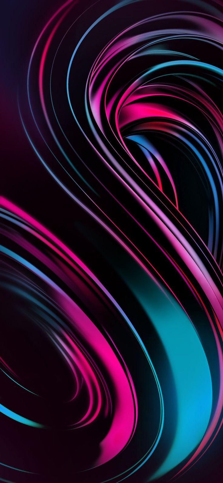 Vivo Next Dual Display Abstract iphone wallpaper, 3d