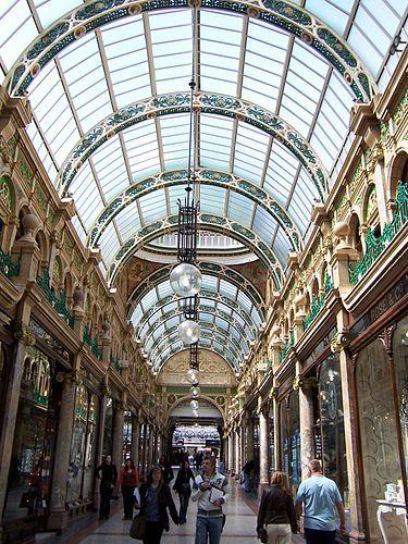 County Arcade, Victoria Quarter   Een blog over het werk van Brian Clarke