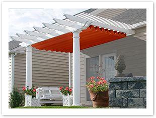 Pergola Canopy Pergolas And Canopies On Pinterest