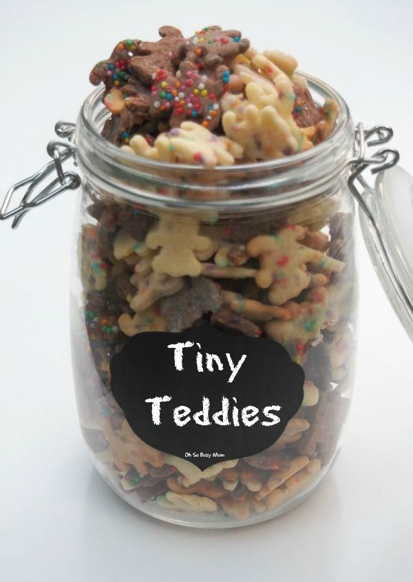 Tiny Teddies Recipe - Oh So Busy Mum