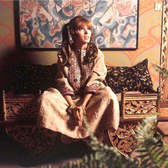Talitha Getty c. 1969                                                       …