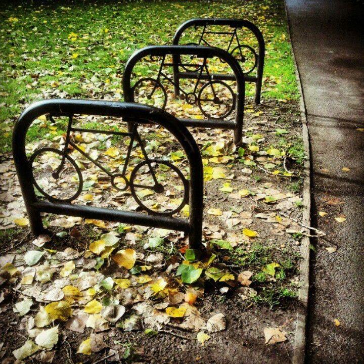 Bike stands in Peckham, UK. Visit the slowottawa.ca boards >> http://www.pinterest.com/slowottawa/